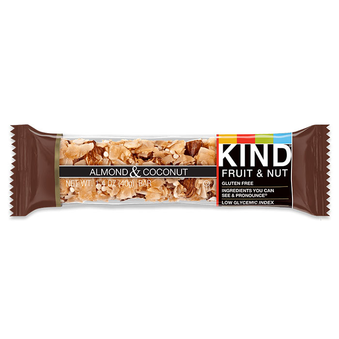 Image of Kind Snacks Kind Bars Fruit and Nut 1 Bar Almond and Coconut