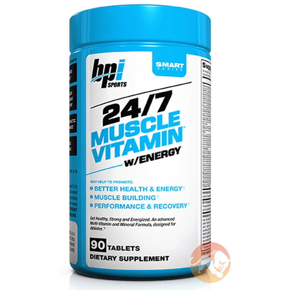 Image of BPI Sports 24/7 Muscle Vitamin with Energy 90 Tabs