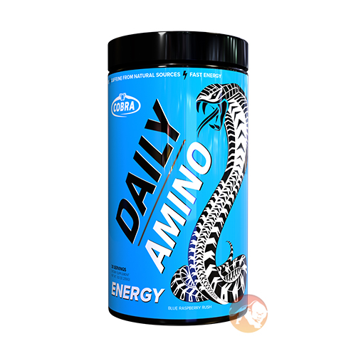 Image of Cobra Labs Daily Amino 30 Servings Blue Raspberry Rush