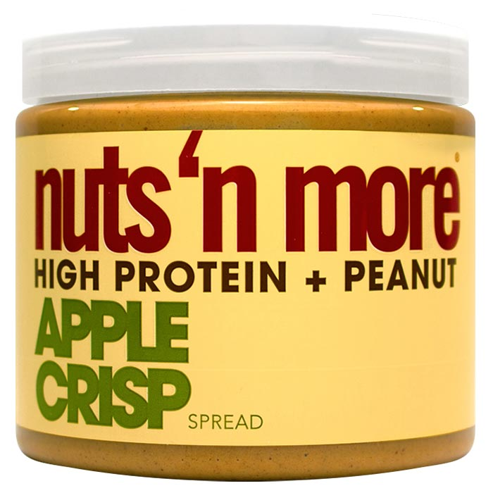 Image of Nuts n More Nuts n More Peanut Butter 454g Apple Crisp