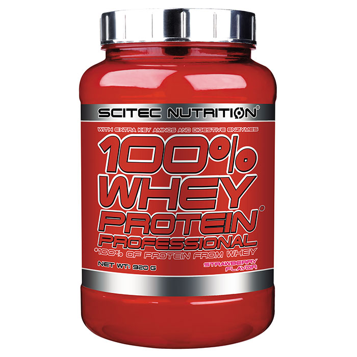 100% Whey Protein Professional 920g Strawberry