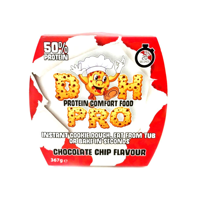 Doh Pro Cookie Dough 367g Chocolate Chip 50% Protein