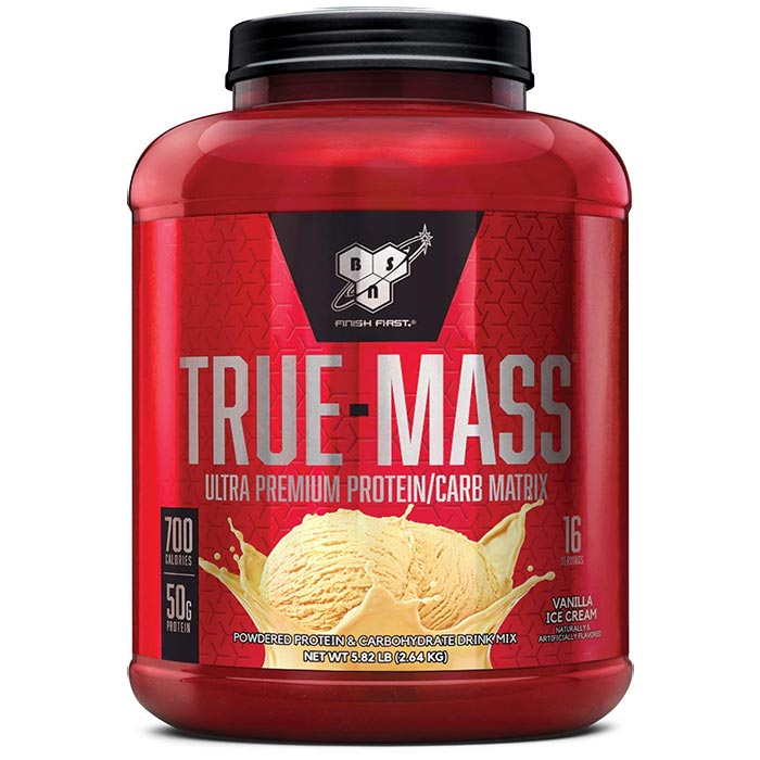True Mass 2.64kg - Vanilla Ice Cream