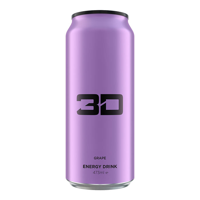 Image of 3D Energy 3D Energy Drink 1 Can Purple