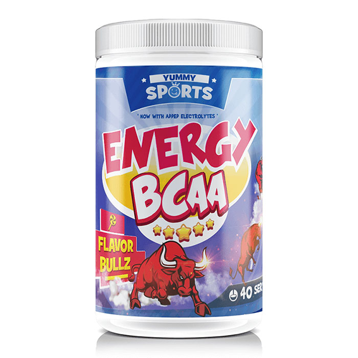 Image of Yummy Sports Energy BCAA 40 Servings Bullz