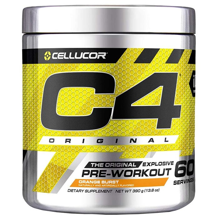 C4 60 Servings Orange Burst