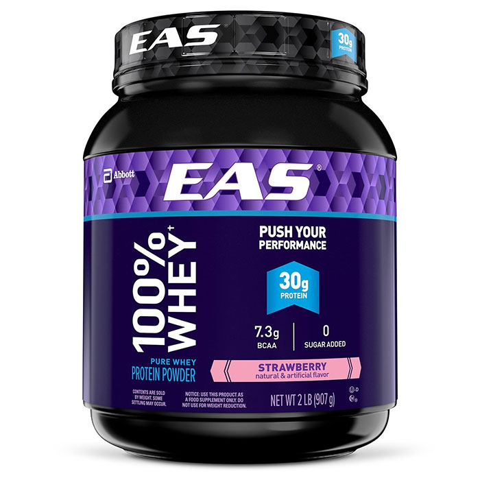 Image of EAS 100% Whey Protein 907g Strawberry