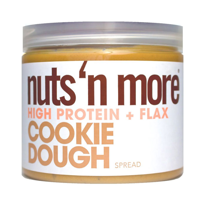 Image of Nuts'n more Nuts n More Peanut Butter 454g Cookie Dough