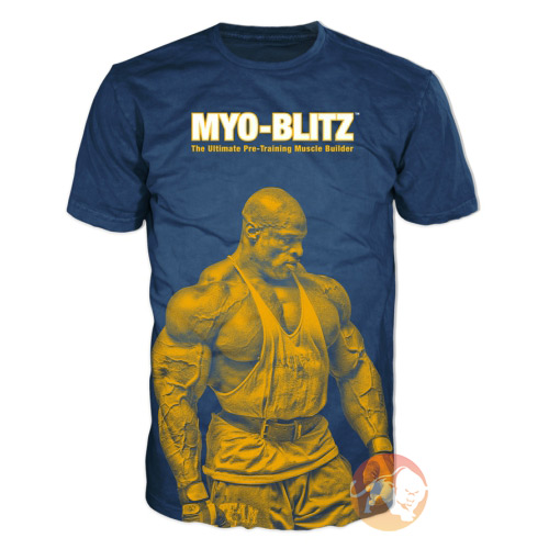 Image of Ronnie Coleman SignatureSeries Myo-Blitz T-Shirt - Medium