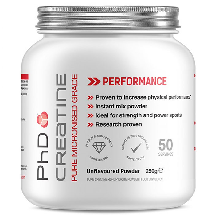 Image of PHD Nutrition Creatine Monohydrate 250g