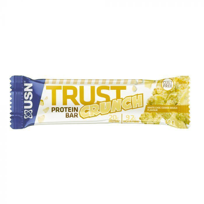 Image of USN Trust Crunch Bar 12 Bars White Chocolate Cookie Dough
