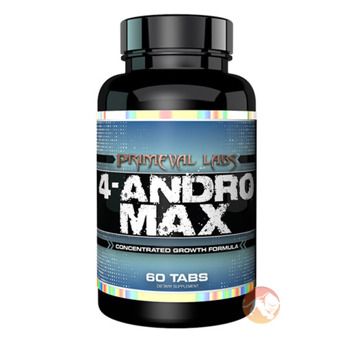 Image of Primeval Labs 4-Andro Max 60 Tabs