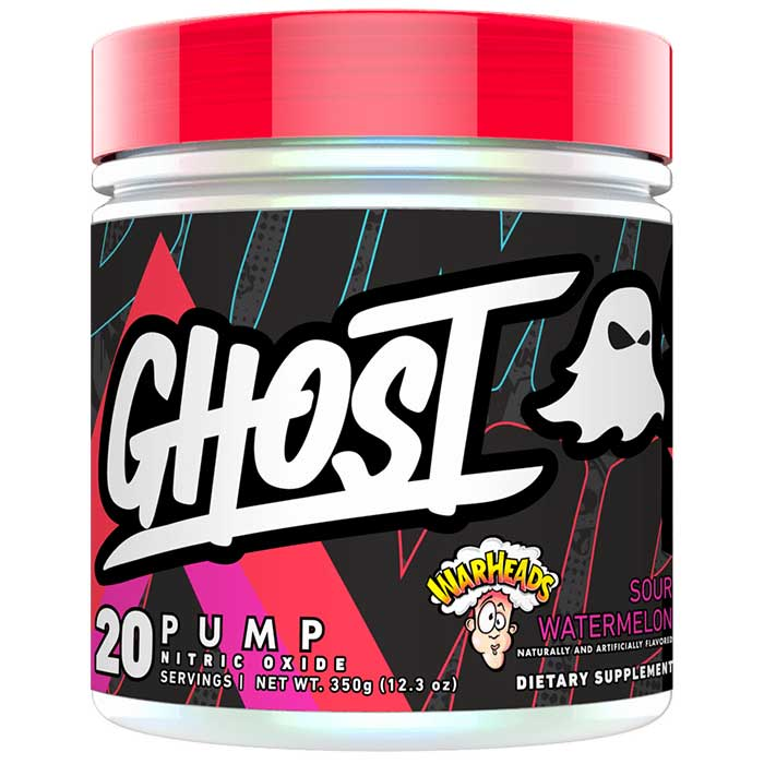 Image of Ghost Lifestyle Ghost Pump 20 Servings Warhead Sour Watermelon