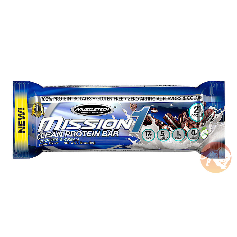 Mission 1 Bar Cookies & Cream