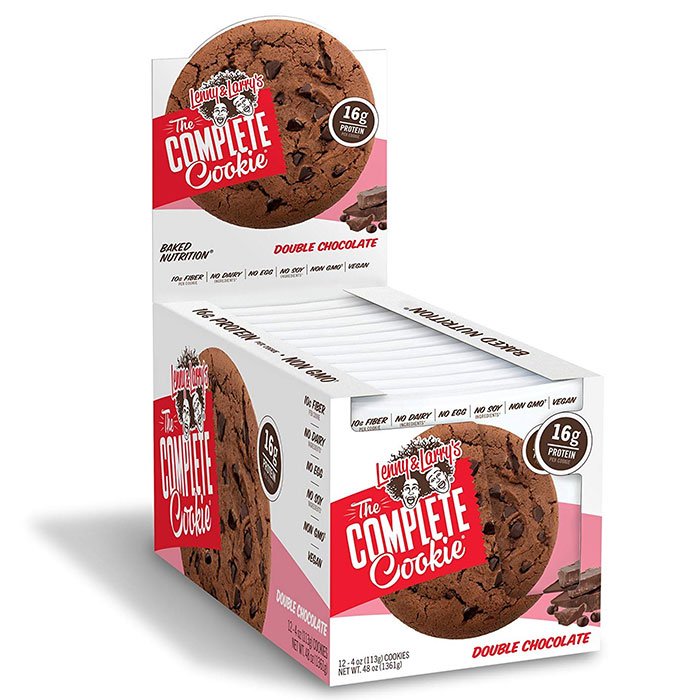 Image of Lenny & Larry's Complete Cookie 12 Pack Double Chocolate