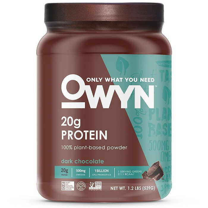 Image of OWYN OWYN Plant Protein 539g Dark Chocolate