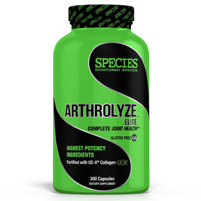 Image of Species Nutrition Arthrolyze Elite 300 caps