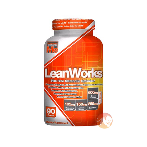 Image of Muscle Elements LeanWorks 90 Capsules