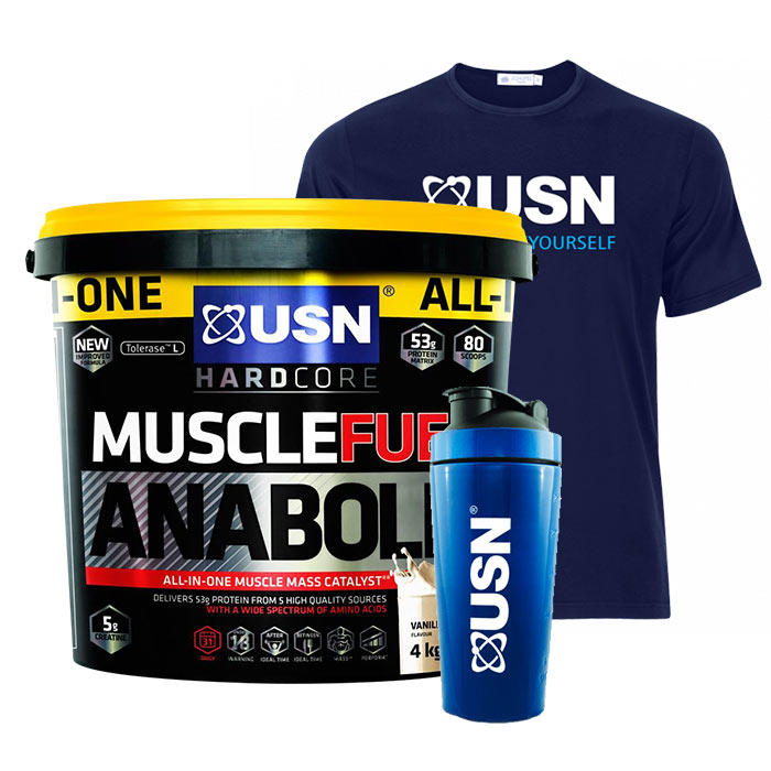 Muscle Fuel Anabolic 4kg Raspberry