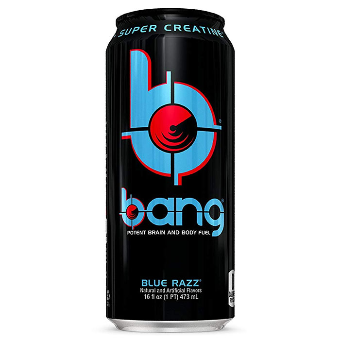 Bang RTD 12 x 473ml Blue Razz