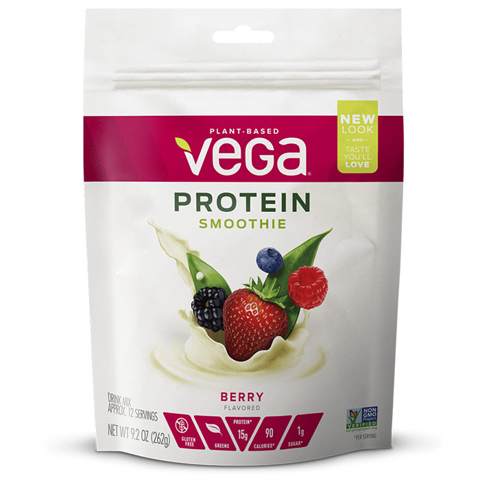 Image of Vega Protein Smoothie 12 Servings Berry