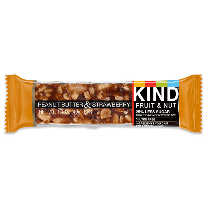 Kind Bars Fruit and Nut 1 Bar Peanut Butter and Strawberry