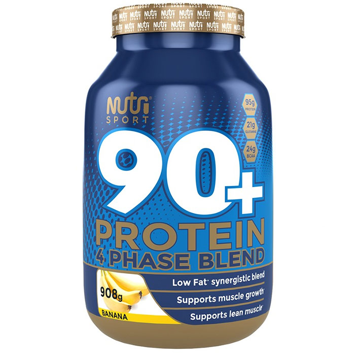 Image of Nutrisport 90+ Protein 908g Chocolate