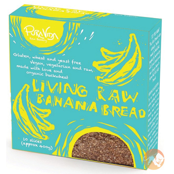 Image of Pura Vida Living Raw Banana Bread 200g