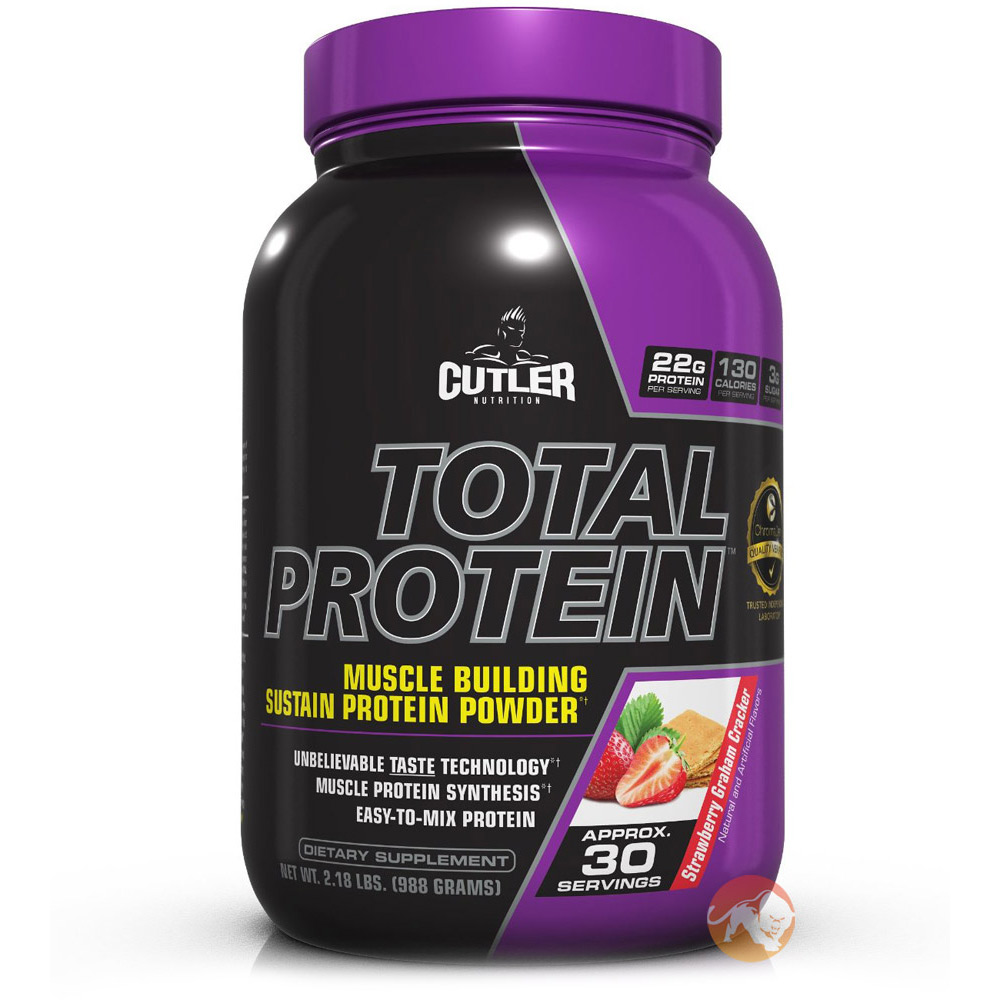 Image of Cutler Nutrition Cutler Total Protein 1050g (2.3lb) - Strawberry