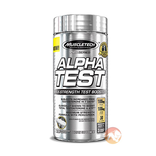 Image of Muscletech AlphaTest 120 Caps