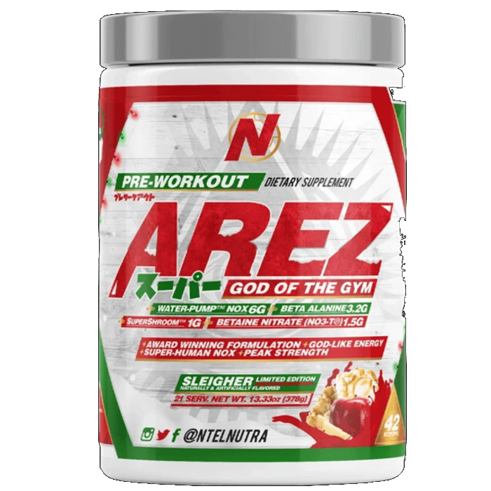 Image of NTEL Nutra Arez Super 21 Servings Sleigher