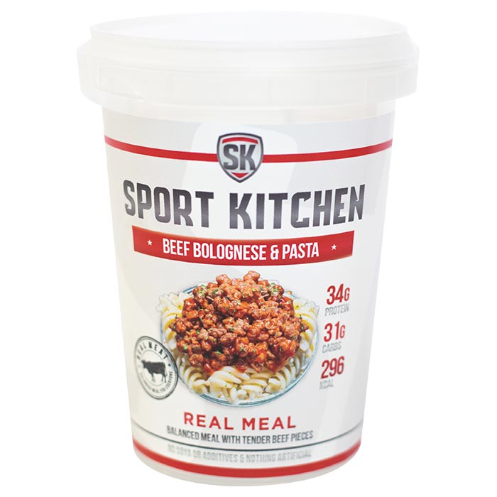 Image of Sports Kitchen Real Meal Beef Bolognese & Pasta 1 Meal