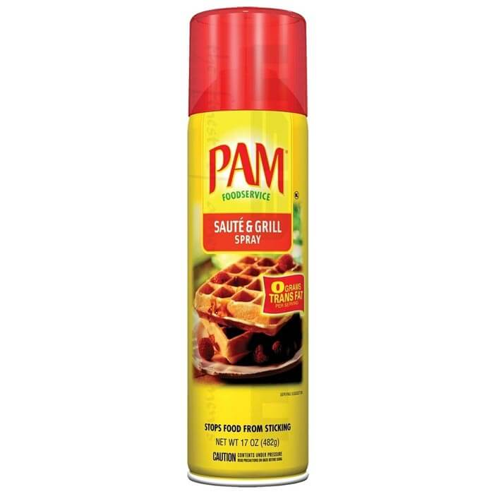 Image of PAM PAM Saute & Grill Spray 482ml