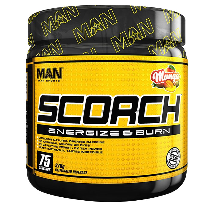 Scorch Powder 75 Servings Strawberry Kiwi