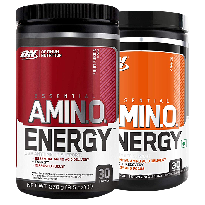 Image of Optimum Nutrition Amino Energy 30 Servings Blueberry