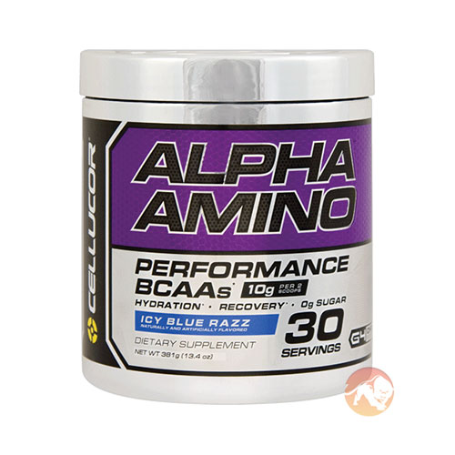Image of Cellucor Alpha Amino 30 Servings - Blue Raspberry