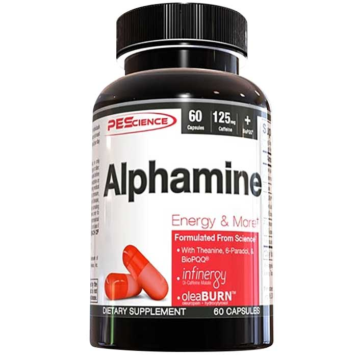 Image of PEScience Alphamine 60 Capsules