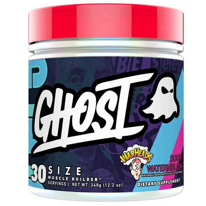 Ghost Size 30 Servings Warheads Sour Watermelon