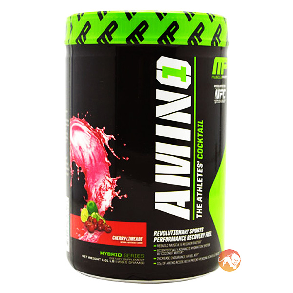 Image of MusclePharm Amino1 15 Servings-Cherry and Lime