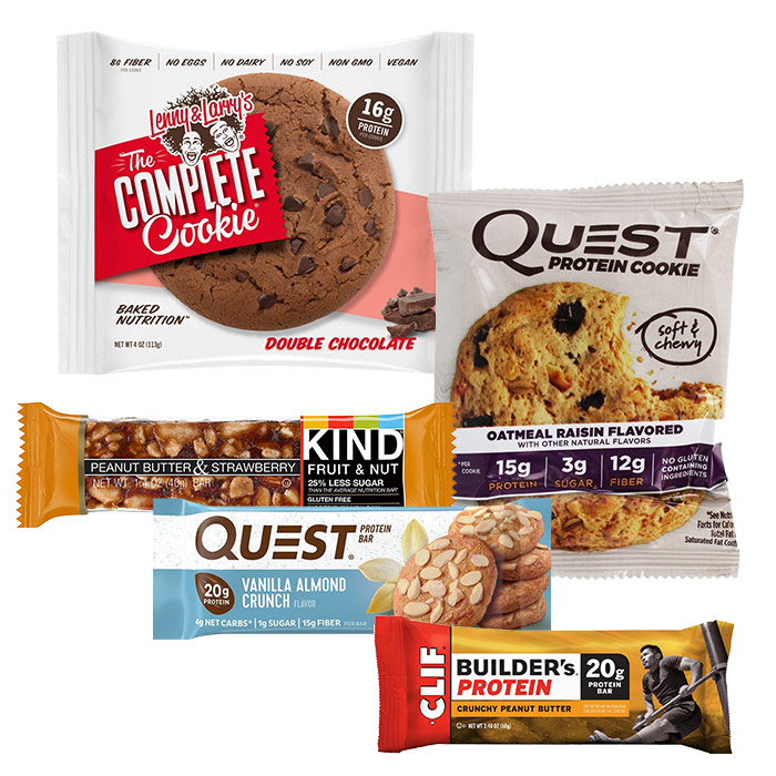 Image of Predator Nutrition 5 mixed protein bars and cookies