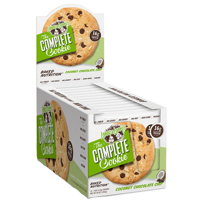 Image of Lenny & Larry's Complete Cookie 12 Pack Coconut Chocolate Chip