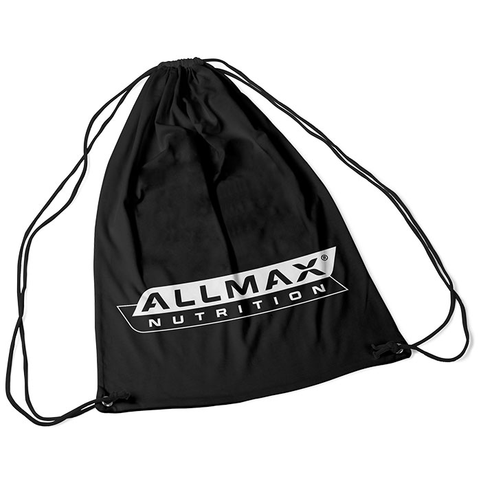 Image of Allmax Nutrition Allmax Nylon Drawstring Bag Black