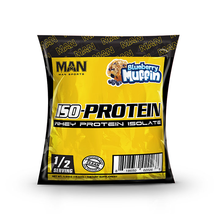 Iso Protein Trial Serving Blueberry Muffin