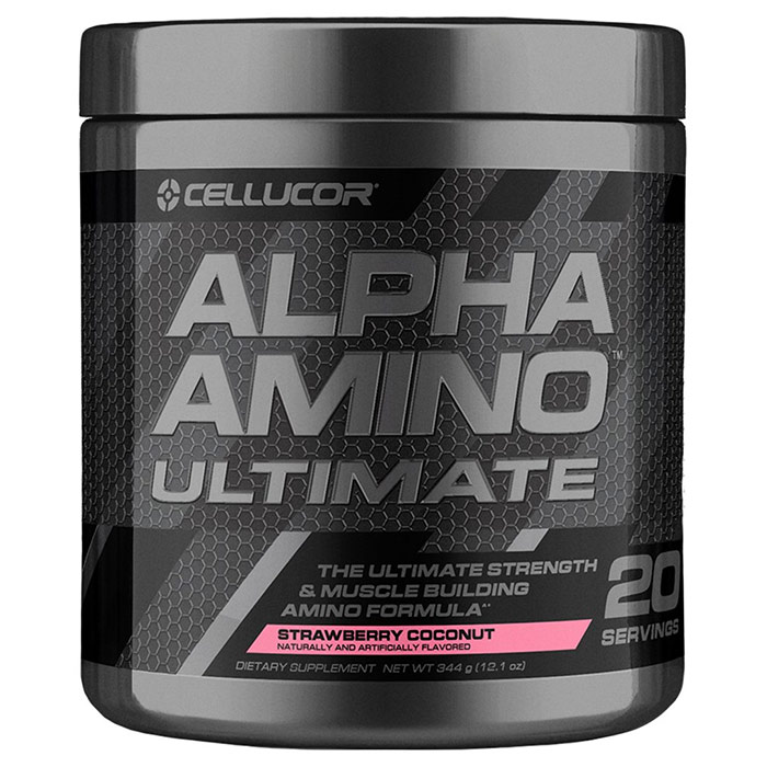 Image of Cellucor Alpha Amino Ultimate 20 Servings Orange Sherbet