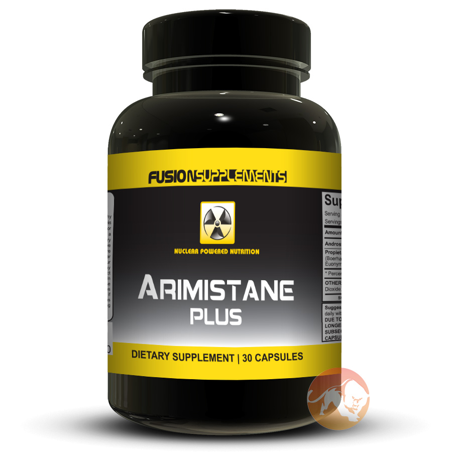 Image of Fusion supplements Arimistane Plus 30 Capsules