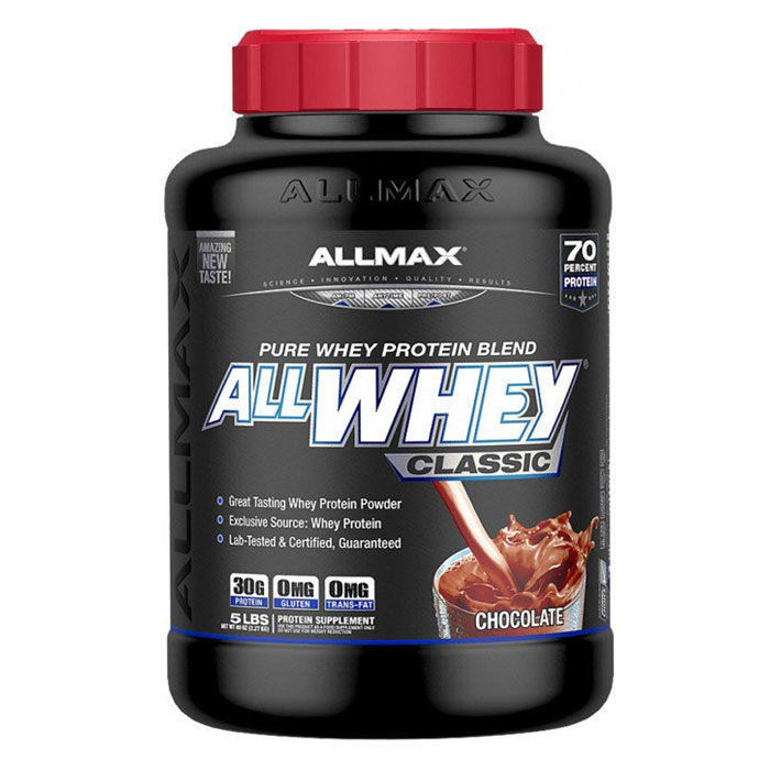Image of Allmax Nutrition AllWhey Classic 907g Chocolate