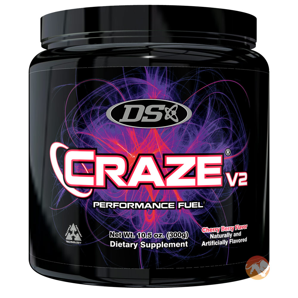 Image of Driven Sports Craze V2 40 servings Cherry Berry
