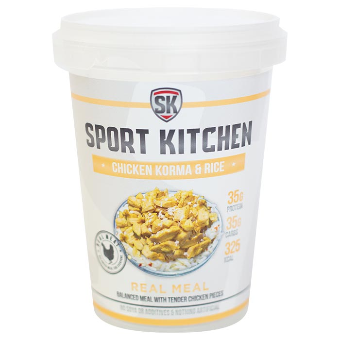 Image of Sports Kitchen Real Meal Chicken Korma & Rice 1 Meal