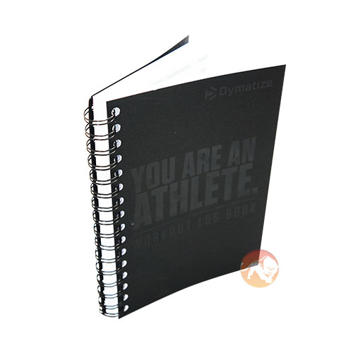 Dymatize Workout Log Book