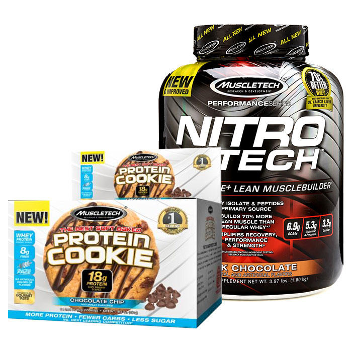 Nitro-Tech Performance Series 1.8kg Cinnamon Swirl